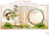 In The Meadow All Occasion Card Insert