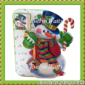 Jolly Snowman Fold Card Kit