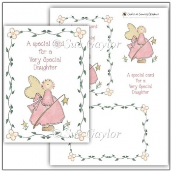 Special Daughter Card Topper
