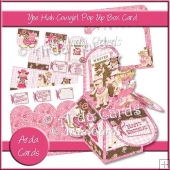 Yee Hah Cowgirl Pop Up Box Card