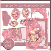 Owl Be There Upright Diamond Fold Card