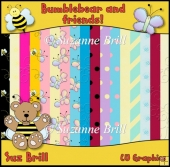 Bumblebear And Friends CU Paper Set