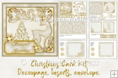 Christmas Card Making Kit. Printable sheets plus all clipart.