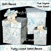 Teddy on Top Gift Boxes