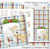 Frilled Square Card Kit 2(Retiring in August)