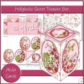 Hollyhocks Secret Treasure Box
