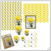 Yellow Rose Pyramage