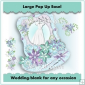 Promises Large Pop Up Easel Card