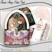 Friends Marry Pocket Card