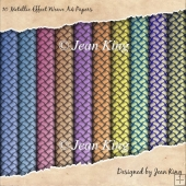 10 Metallic Effect Weave A4 Papers