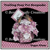 Trailing Posy Pot Card/Keepsake