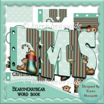 Bearymerrybear Word Book
