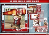 Mr Beer Mouse 4 Sheet Mini Kit