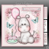 Hippo Birthday To You Mini Kit