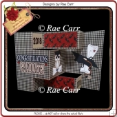 813 Graduation Multi Fold Card *HAND & MACHINE Formats*