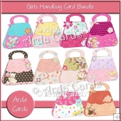 Girls Handbag Card Bundle