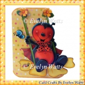 Ladybug Swing Fold Card Kit