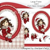 Large Frame Card - Purrfect Christmas(Retiring in August)