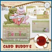 Toadily In Love Over The Top Card Kit
