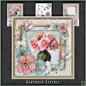 Vintage Shabby Chic Blossom Card Kit 1159