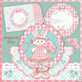Bouquet Bunny Card Kit