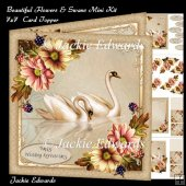 Beautiful Flowers & Swans Kit