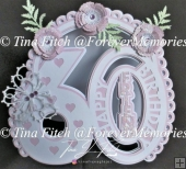 Friend 60th Birthday TF0306, Cameo,Cricut,ScanNCut,SVG