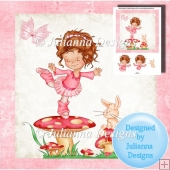 8x8 Little Dancer Topper