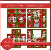 Christmas Critters Neverending Card