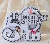 Layered 50th Card & Topper Set, SVG,CAMEO, CRICUT, ScanNCut,SCAL