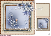 7.5 x 7.5 Card Topper & Gifttag Christmas 17