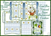 Daisy Days Card Box Notelet Set
