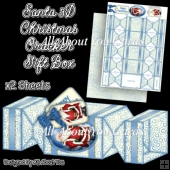 Santa Christmas Cracker Gift Box