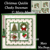 Christmas Quickie - Cheeky Snowman
