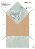 Diamond C'attitude Having Fun Design and Template Card Sheet