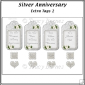 Silver Anniversary Extra Tags 2