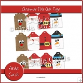 Christmas Pals Gift Tags