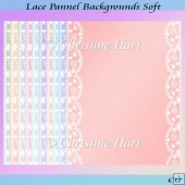 Lace Panel Backgrounds Soft CU