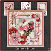 Vintage Shabby Chic Blossom Card Kit 1157