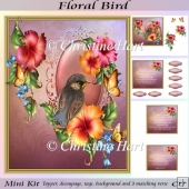 Floral Bird Mini Kit