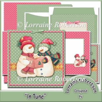 In Tune 5½ inch Card