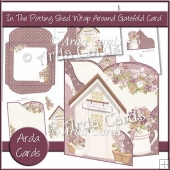 In The Potting Shed Wrap Around Gatefold Card