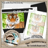 Tiger - Stationery Set 2