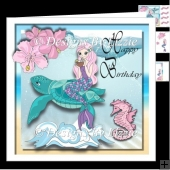Mermaids at Play Birthday Mini kit