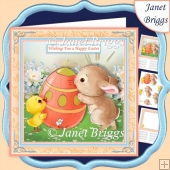 EASTER CUTIES 7.5 Decoupage & Insert Mini Kit