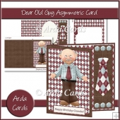 Dear Old Guy Asymmetric Card