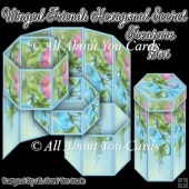 Winged Friends Hexagonal Secret Treasure Box