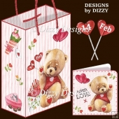 My Beary Special Valentine Gift Bag