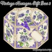 Vintage Hexagon Gift Box 3