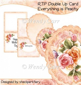 RTP Double Up Card - Everything Is Peachy(Retiring in August)